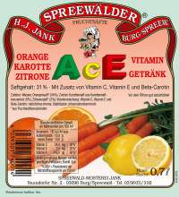ACE-Vitamin-Getränk