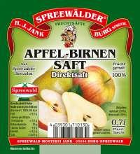 Apfel-Birnen-Saft Direktsaft
