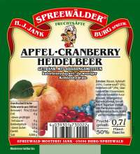 Apfel-Cranberry-Heidelbeer