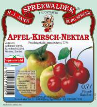 Apfel-Kirsch-Nektar