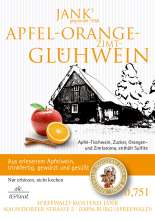 Apfel-Orange-Zimt-Glühwein