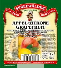 Apfel-Zitrone-Grapefruit