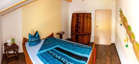 Zweites Schlafzimmer der Ferienwohnung Fass 2