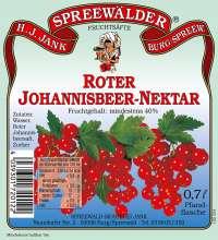 Roter Johannisbeer-Nektar