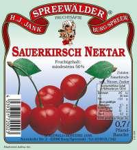 Sauerkirsch-Nektar