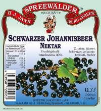 Schwarzer Johannisbeer-Nektar